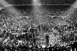 Presidential Candidate John F. Kennedy At Boston Garden 1960
