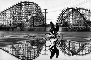 Riding By Paragon Park Puddles 1984