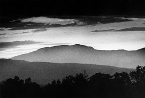 Mist Over The Carrabassett Valley In Maine 1987