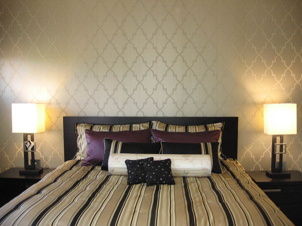 Interior Design Calgary Master Bedroom Wallpaper Custom Bedding