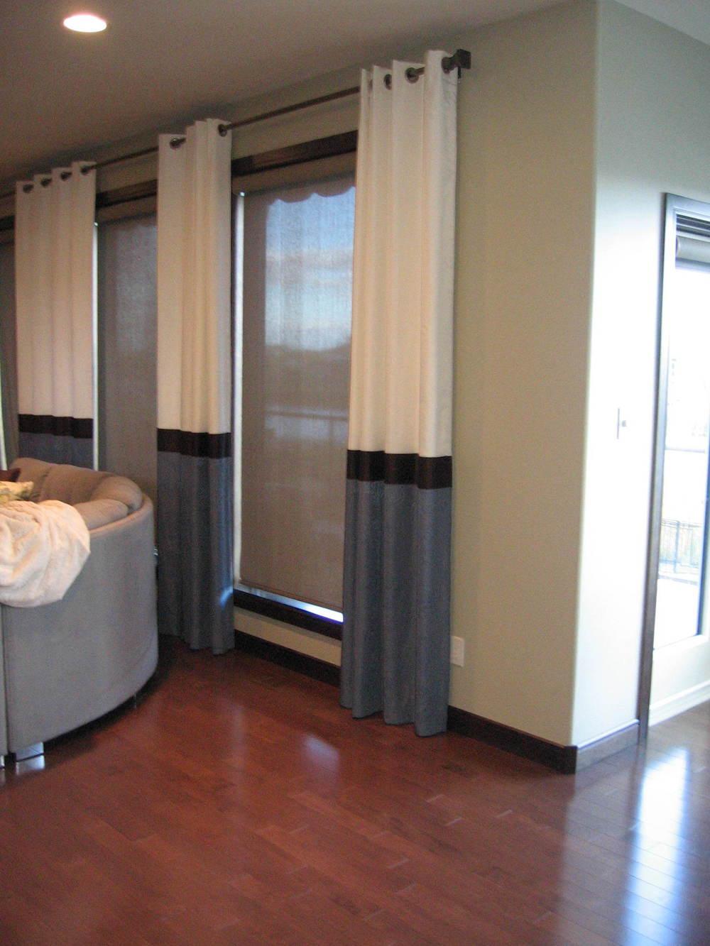 Interior Design Calgary Living Room Custom Drapery