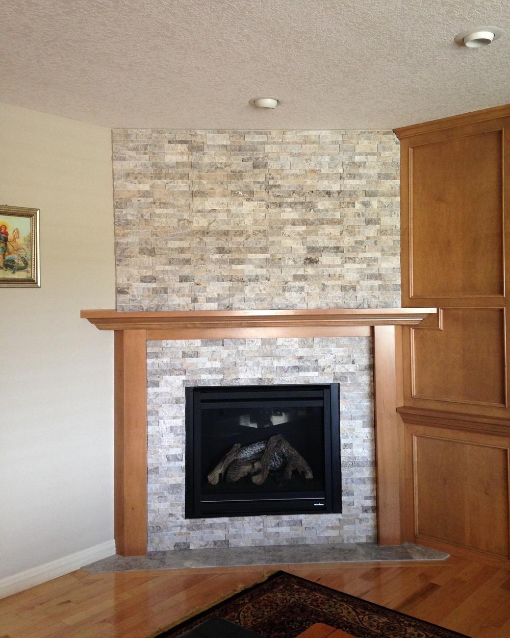 Interior Design Calgary Living Room Fireplace Surround