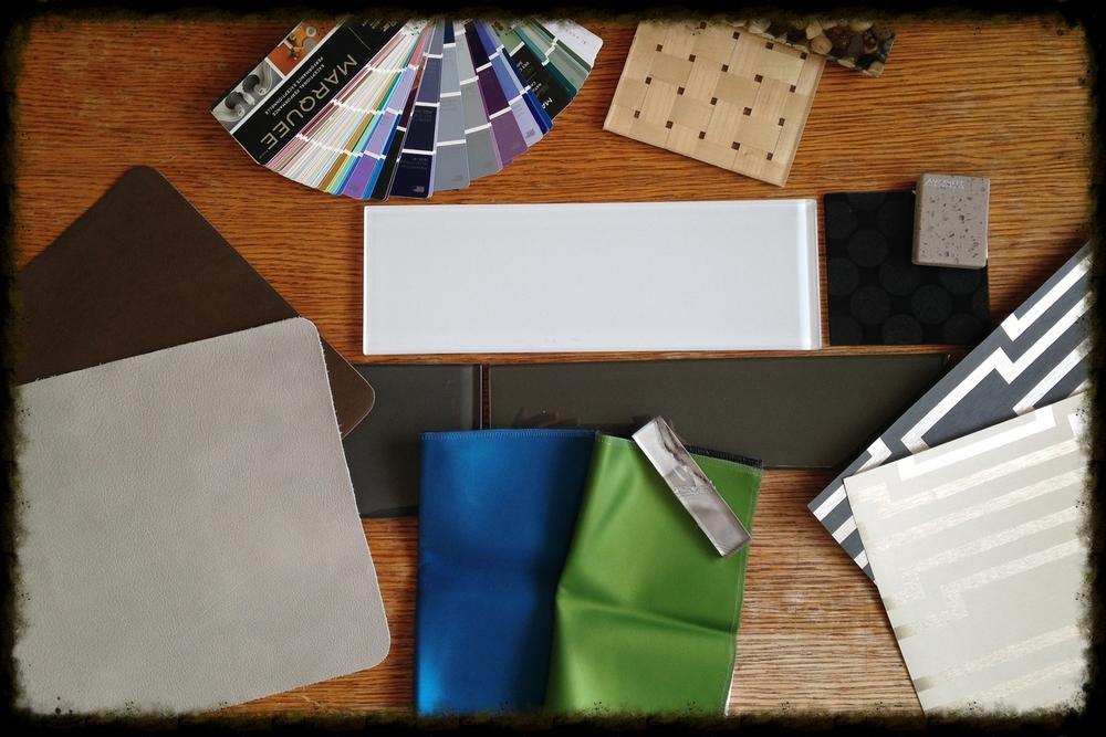 Interior Design Calgary Product Samples