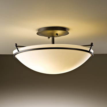 Interior Design Calgary, Home Decor & House Plans | Hubbardton Forge Ceiling Light | Dutch Touch Interiors