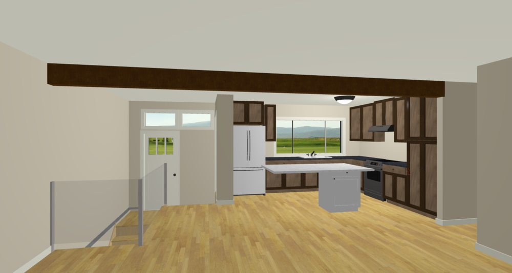 Interior-Design-Calgary, Home-Decor-&-House-Plans | 3D-Rendering-No-Column | Dutch-Touch-Interiors