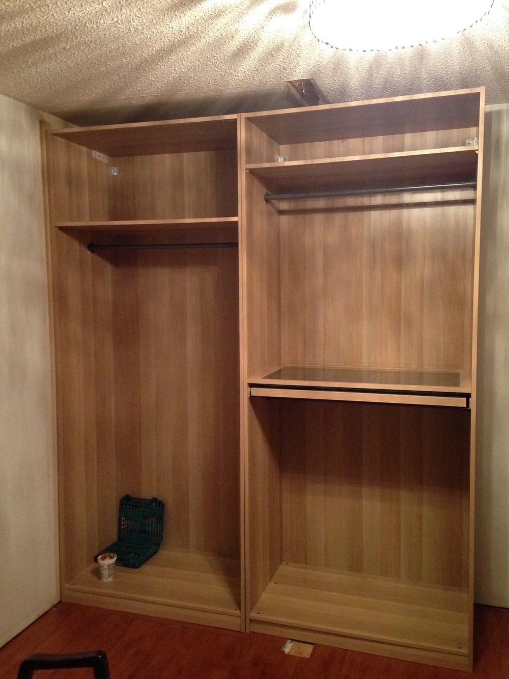 Interior Design Calgary, Home Decor & House Plans | IKEA Closet Bedroom No Doors | Dutch Touch Interiors