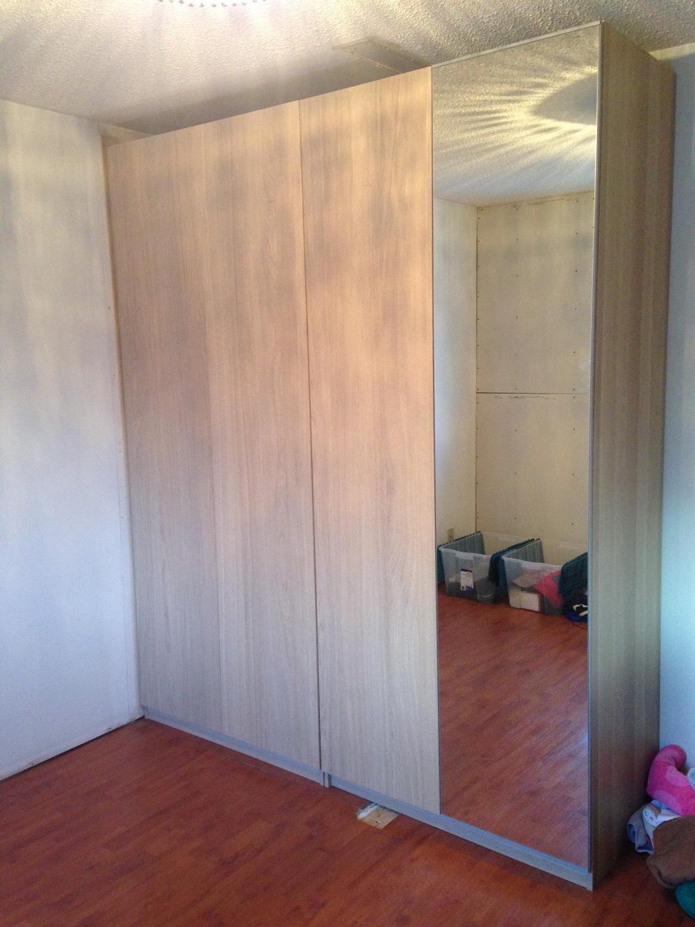 Interior Design Calgary, Home Decor & House Plans | IKEA Closet Finished | Dutch Touch Interiors