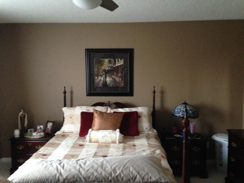 Interior Design Calgary, Home Decor & House Plans | JJ Bedroom Before | Dutch Touch Interiors