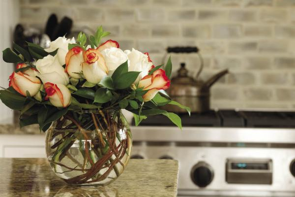 Interior Design Calgary, Home Decor & House Plans | Flowers In Kitchen | Dutch Touch Interiors