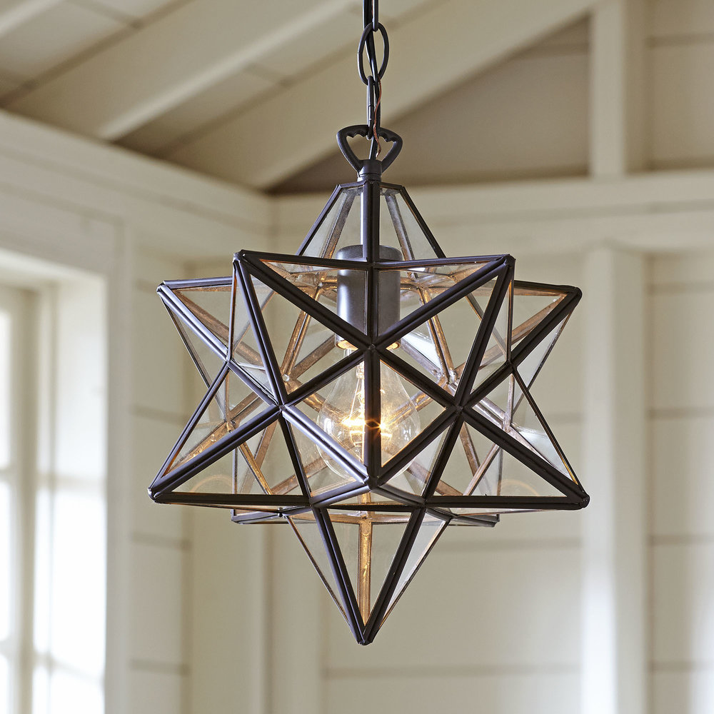 When I first saw this, I spent about 5 minutes trying to think of a place I could put it in our home!  I L.O.V.E. these gorgeous star fixtures and they're starting to pop up all over the place!!