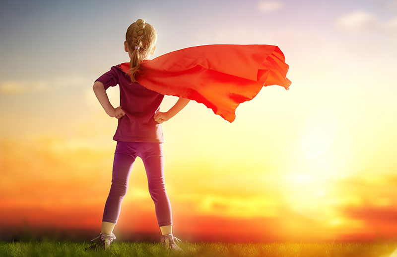 Claim Your Power Supergirl | Dutch Touch Interiors
