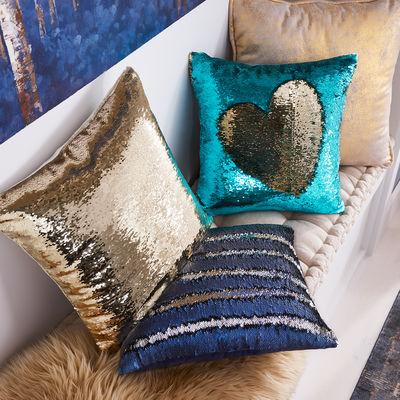Glitter Cushions | Interior Design Calgary, Virtual Interior Design | Dutch Touch Interiors