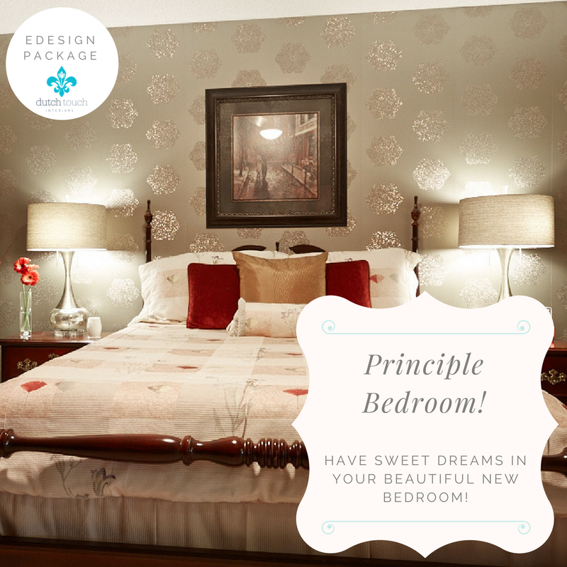 Bedroom Renovation Edesign Package | Interior Design Calgary, Virtual Interior Design & Edesign | Dutch Touch Interiors