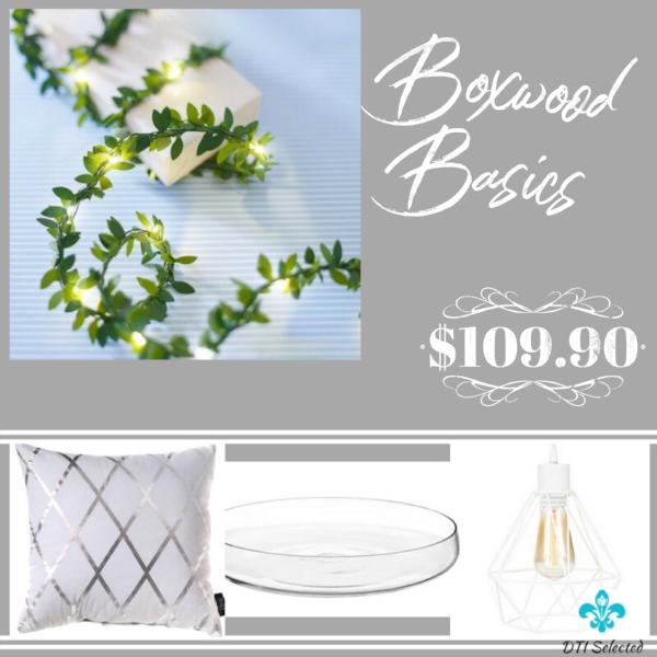 Boxwood Basics Design Scheme | Calgary Interior Design, Edesign & Virtual Interior Design | Dutch Touch Interiors