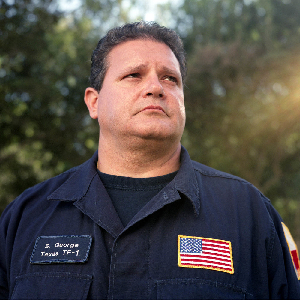 Shane George Traveled from Texas to Ground Zero with Texas Task Force 1 for search and rescue operations.