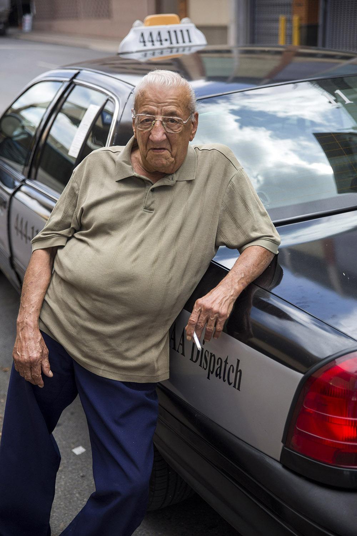 San Antonio cab driver Joe Hinojosa