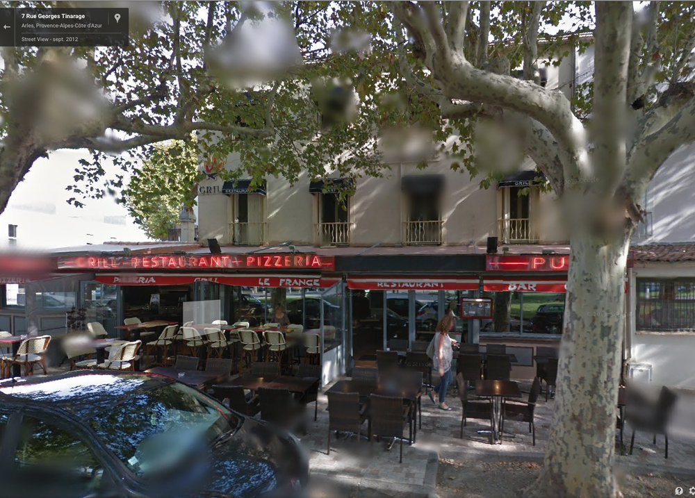Brasserie Le France: click for google map