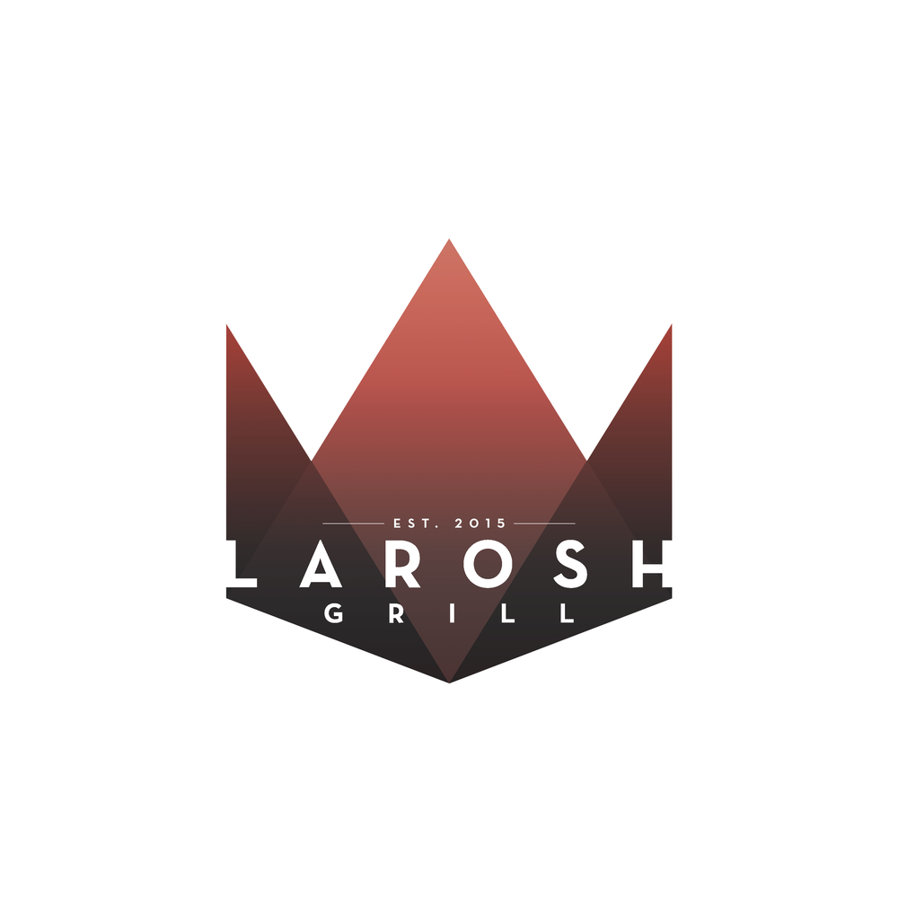 Client: LAROSH GRILL A South Asian American restaurant located in Katy, TX. Early concept work done for the client during the restaurant's conception.