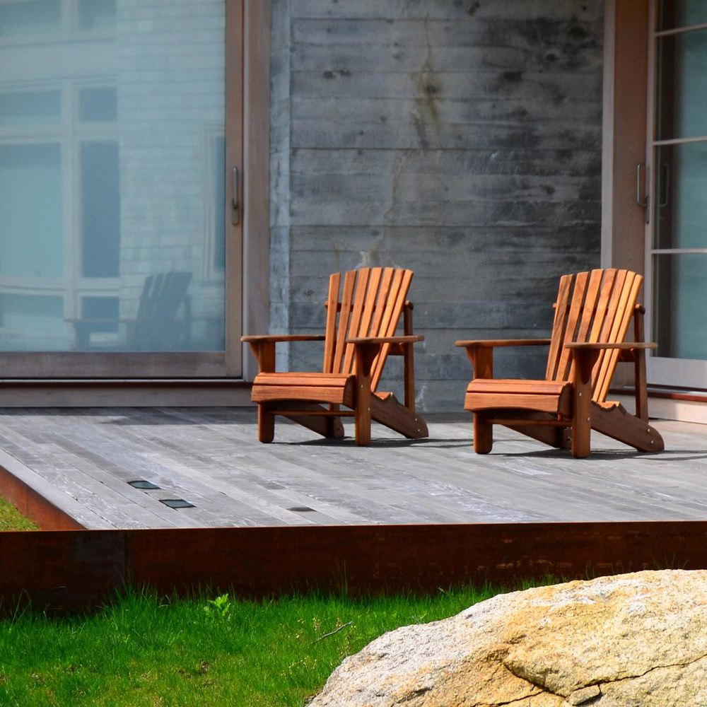 Landscape Architect Deck Design in Falmouth, MA