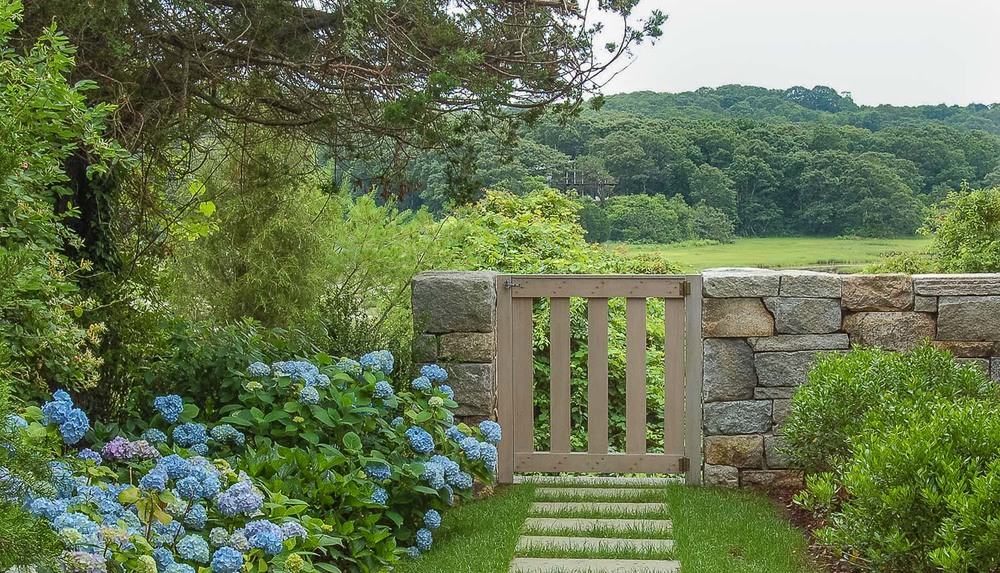 West Falmouth, MA Cape Cod Summer Home Landscape