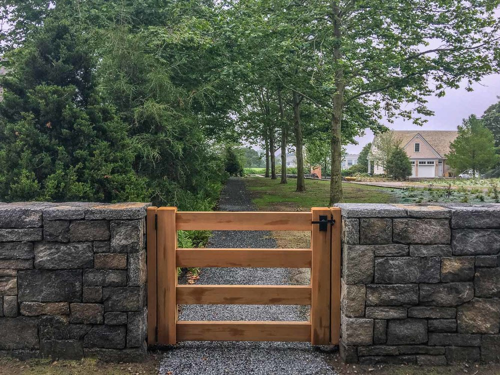 Granite Walls and Gate