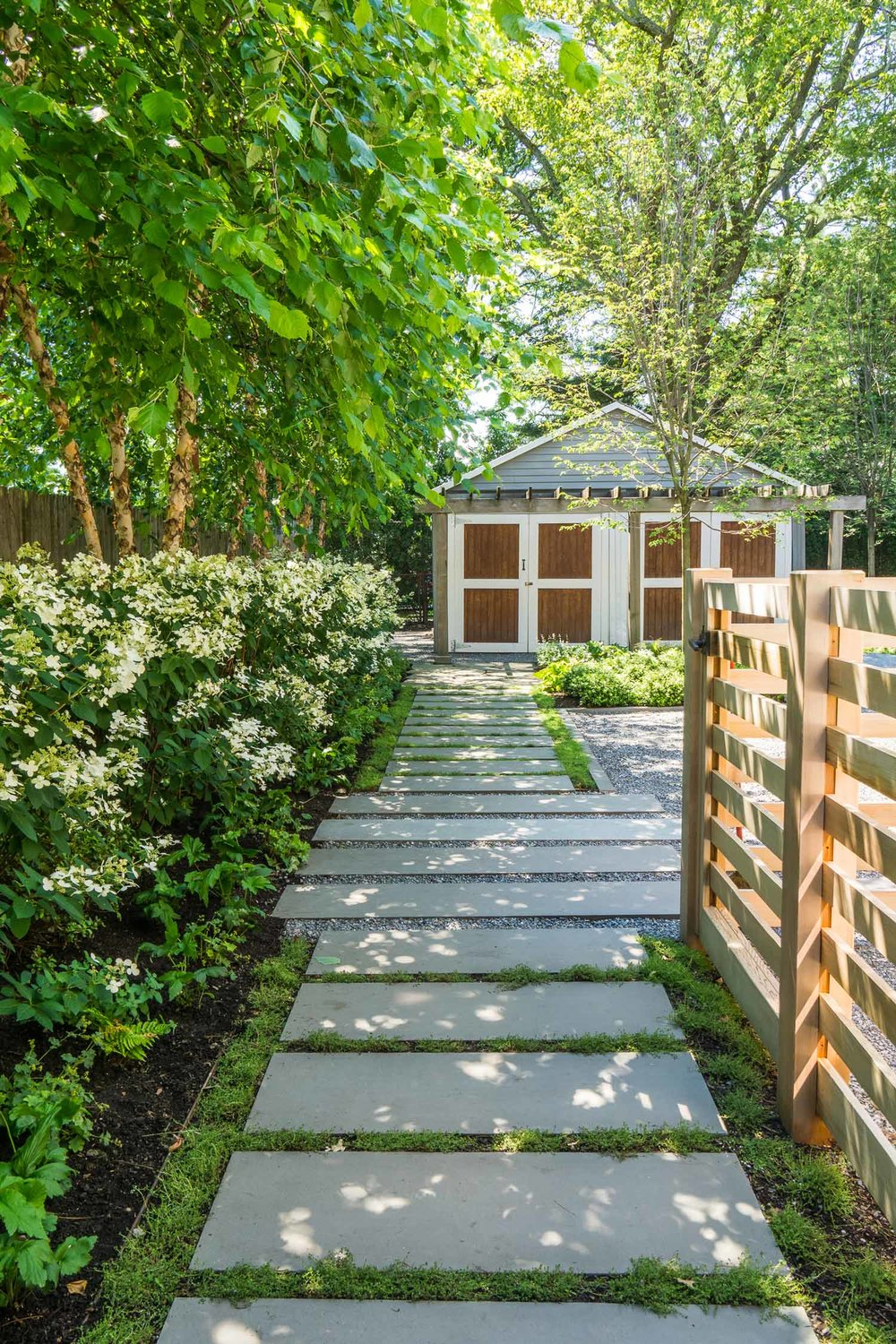Residential Landscape Architecture, Cambridge, Massachusetts