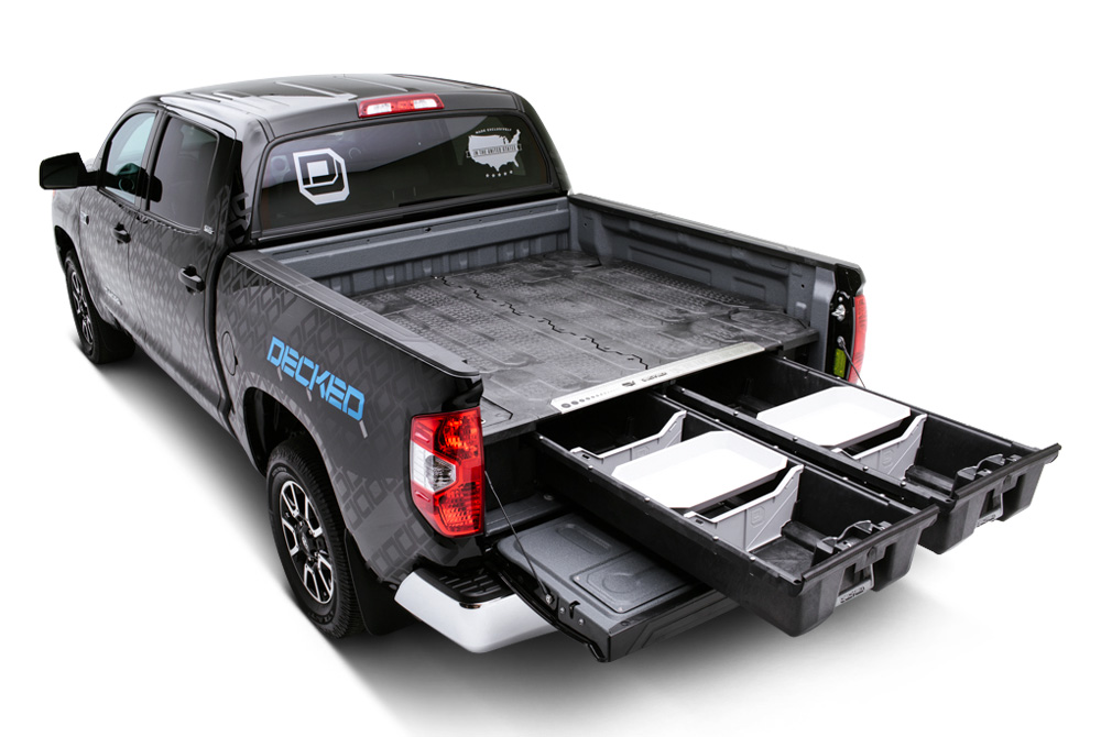 Decked!  Truck Bed Storage System