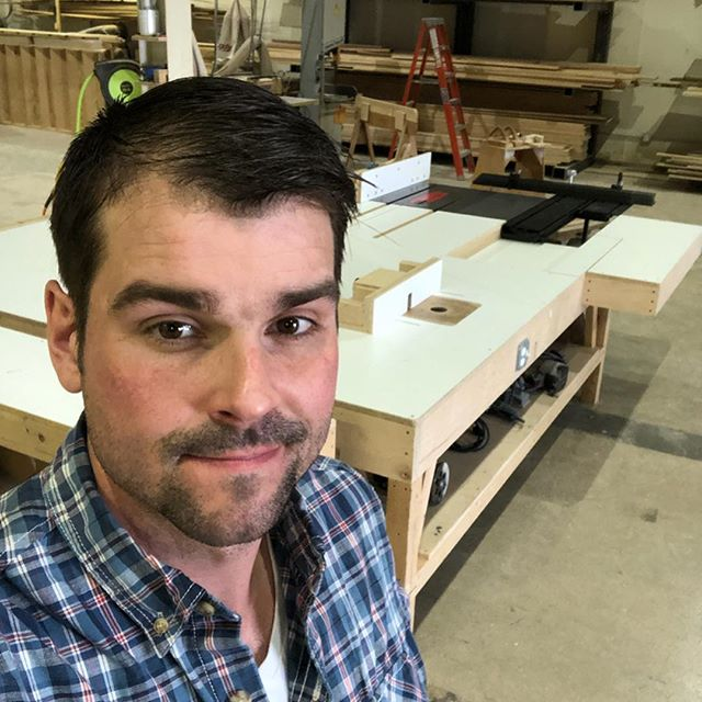 What's up Cincinnati! It's been a busy few weeks with a ton of change. I moved myself and my shop from upstate New York to Cincinnati and took up a job as a finish carpenter with @cincinnatistair.  I just installed my table saw and outfeed in the shop. It's going to be a huge improvement to work flow and safety. I will designing and building spec furniture in the coming weeks and am always looking for the next commission.  If anyone is in the Cincinnati area and wants to grab a beer and talk furniture let me know! . . . #cincinnati #ohio  #furnituremaker #furniture #moderndesign #modernfurniture #modern #contemporaryartist #contemporyfurniture #contemporarydesign #art #woodworking #woodworker #interiorarchitecture #designer #woodworkerofinsta #design #interiordesign #joints #industrialdesign #madeinamerica #madeinohio #hustle #craft #contemporarycraft  #sculpture #cincinnatistair