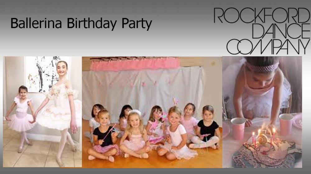 Prepare To Be Treated Like A Princess At Your Very Own Ballerina Birthday Party