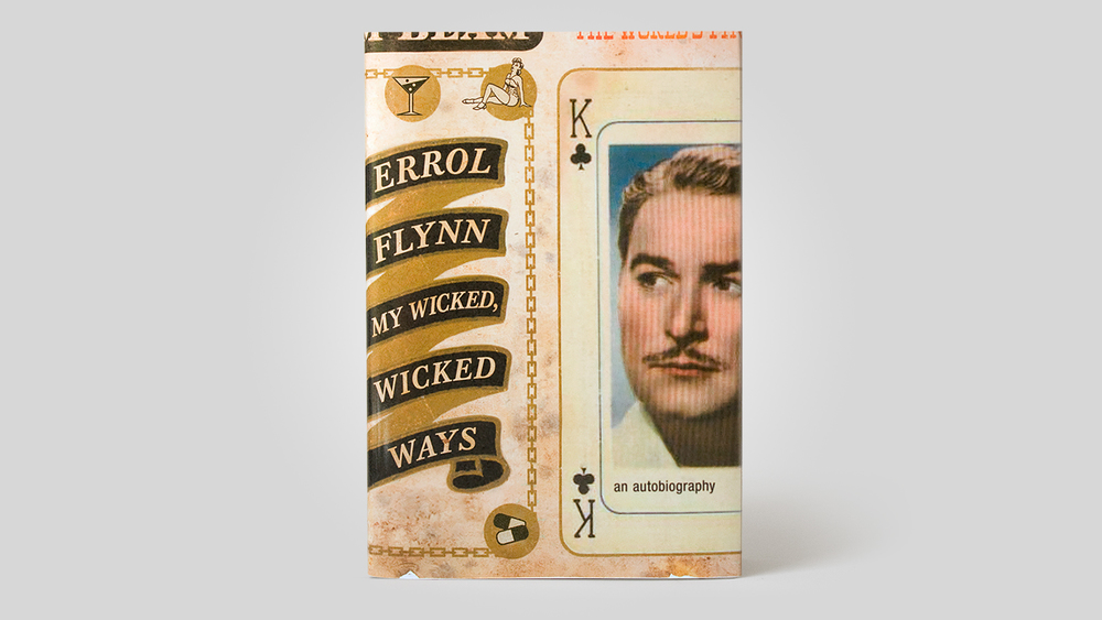 Errol Flynn Autobiography Redesign.
