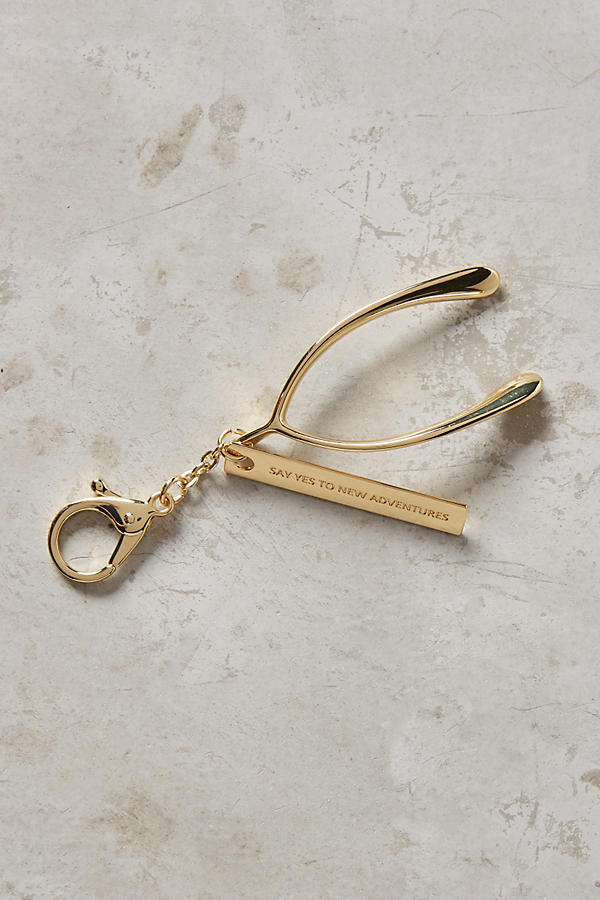 Anthropologie Lucky Token Keychain