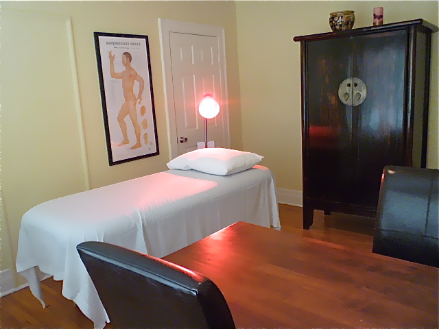 One of four treatment rooms