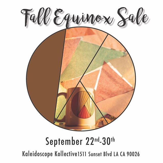 It's Fall!! 🍂 We're welcoming in this  season of change and transformation with open arms and a #Sale in gratitude for all the blessings this year has brought us. Thank you friends and community for your continued support. Come in and receive 15% now til the end of September on all items from our 5 Kaleidoscope creatives: @delalunadesigns  @karlita_designs  @patchouli_nomad  @sunqu_misti_jewelry  @my_style_wagon