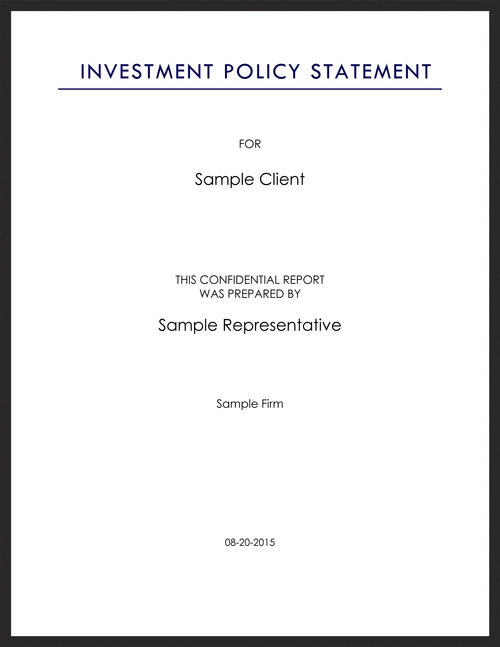 Saratogasharp Investment Management Proposal  Saratoga Capital