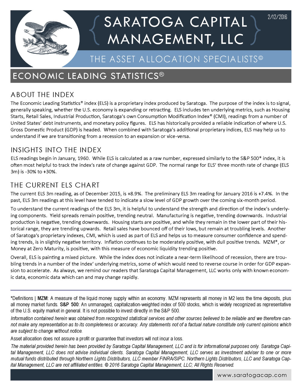 Click to View the Current ELS Fact Sheet
