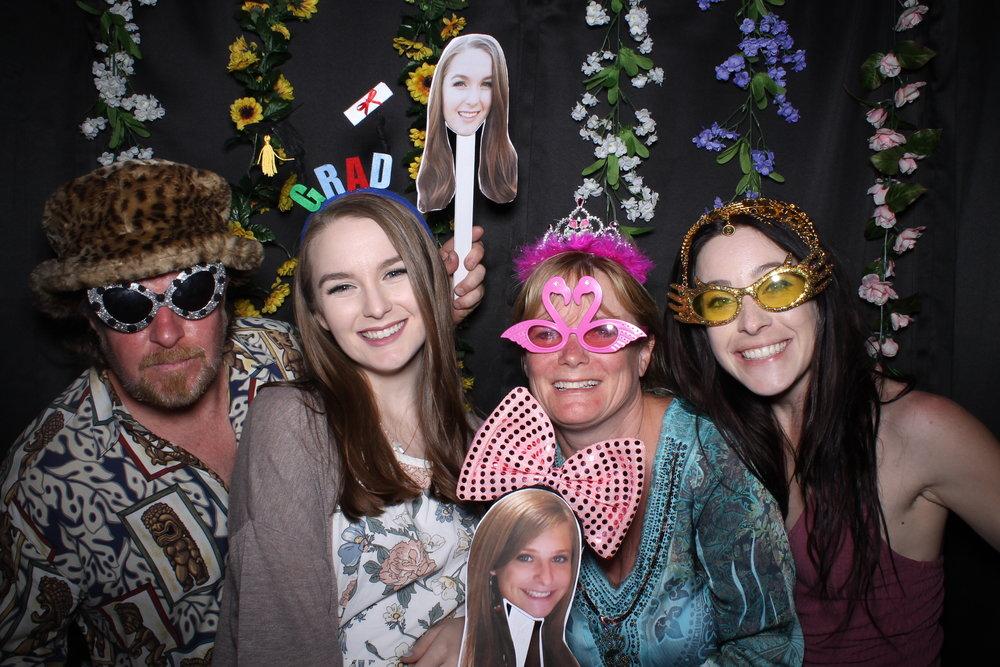 Cheers To You Photo Booth | Huntington Beach, CA | Alyssa's Graduation
