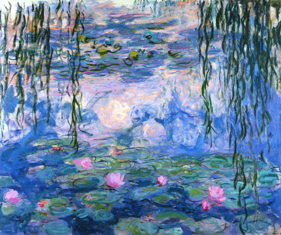 Water Lilies (Nymphéas) by Claude Monet (1919) oil paint