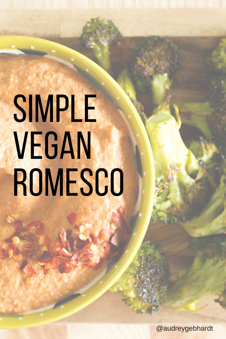 Vegan Pecan Romesco