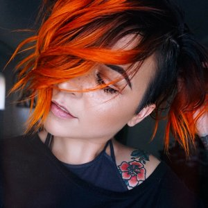 Im afraid i just blue myself girrlscout note the answer is no i did not bleach or pre lighten my hair before i dove into the blue i just slapped this color right over the orange just how it is solutioingenieria Choice Image
