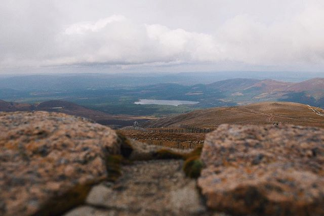 The view from Cairngorm Mountain