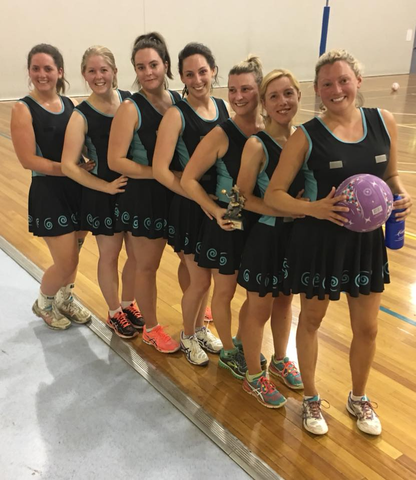 LADIES OPEN 4 - RUNNERS UP - WIDGIES (MVP JAC GONSAL)