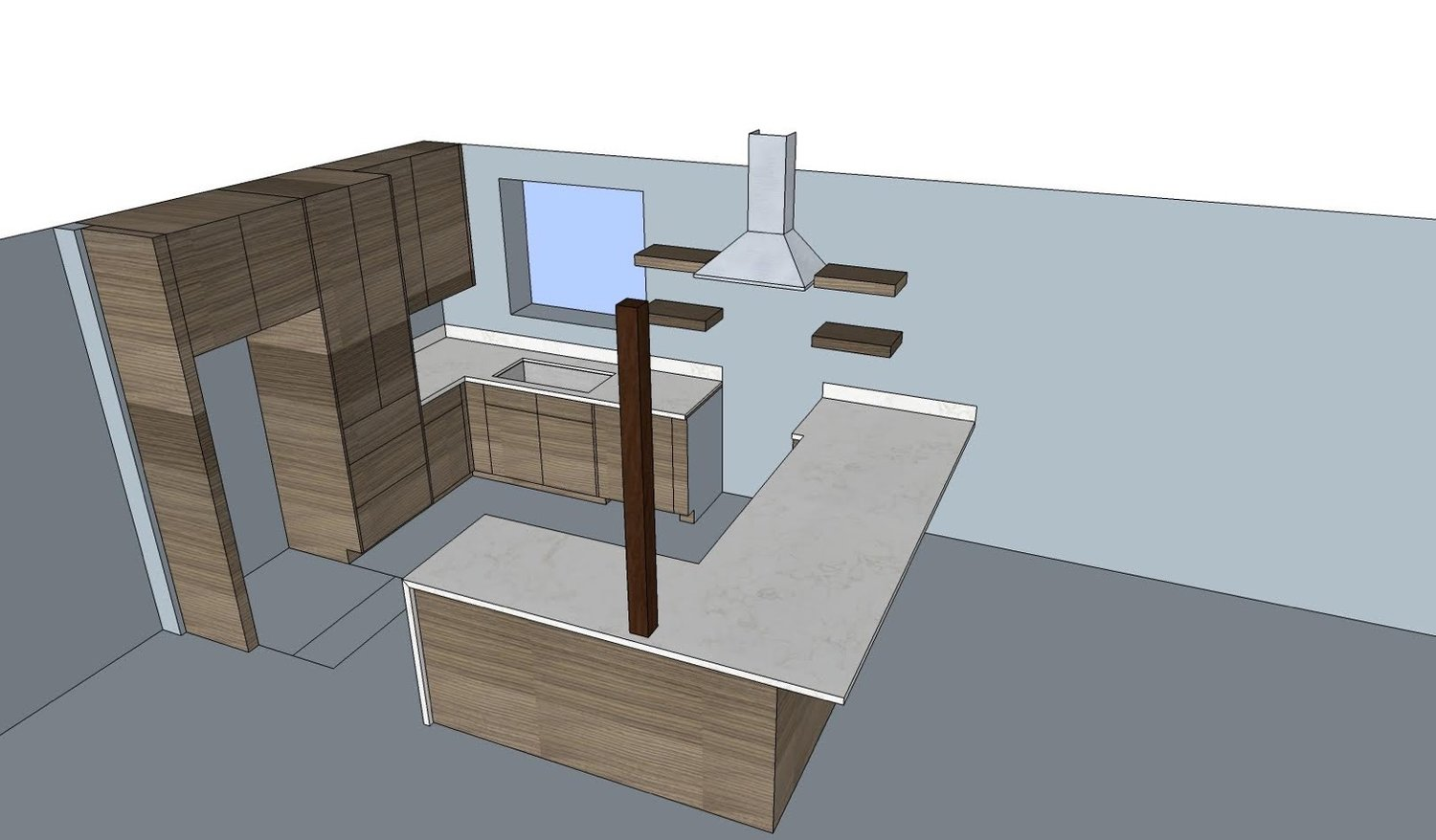 Our Atown Aframe Kitchen Remodel Plans — Part Of The Poffs