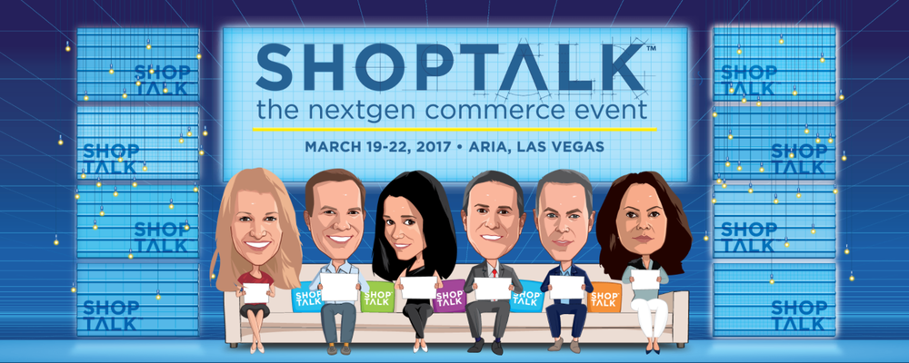 Logo for Shoptalk 2017, where Jetlore CEO and VP Sales were in attendance.