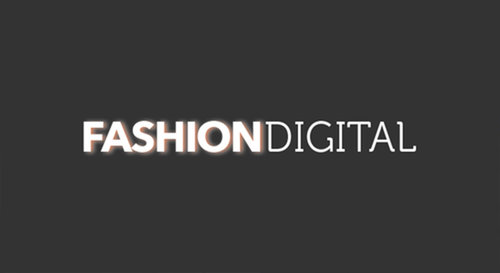 Black fashion digital NY logo.