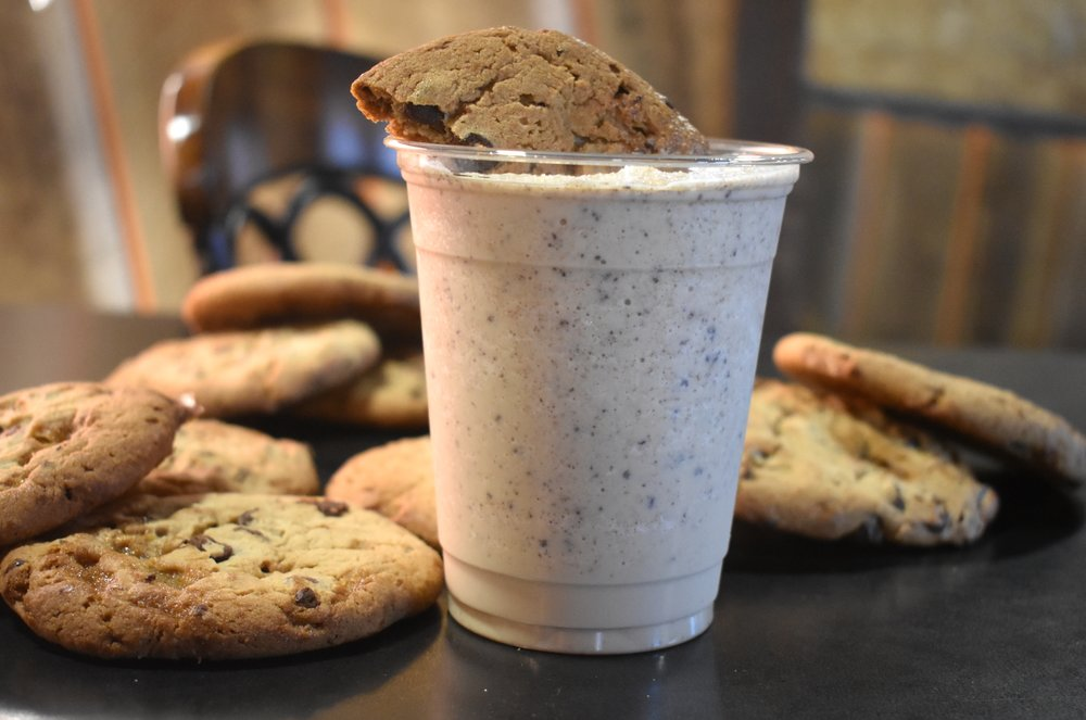 Chocolate Chip Cookie Caramel Frappe