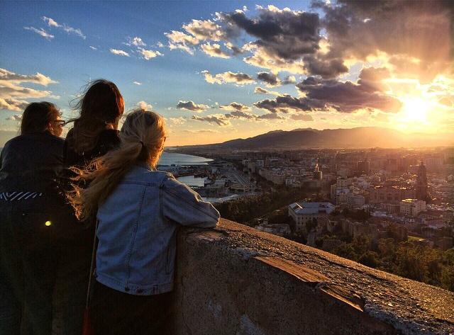 Malaga, Southern Spain.