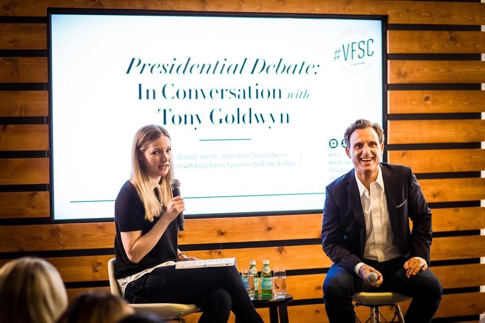 Tony Goldwyn, Scandal - Photo by @VFAGENDA