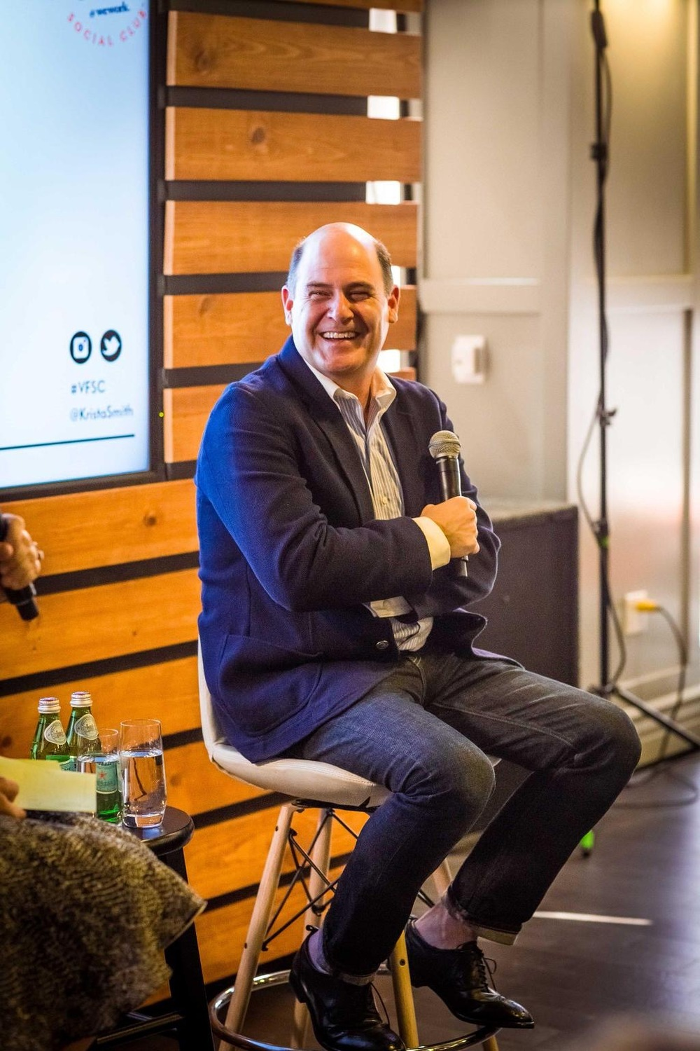 Matthew Weiner, Creator of Mad Men - Photo by @VFAGENDA