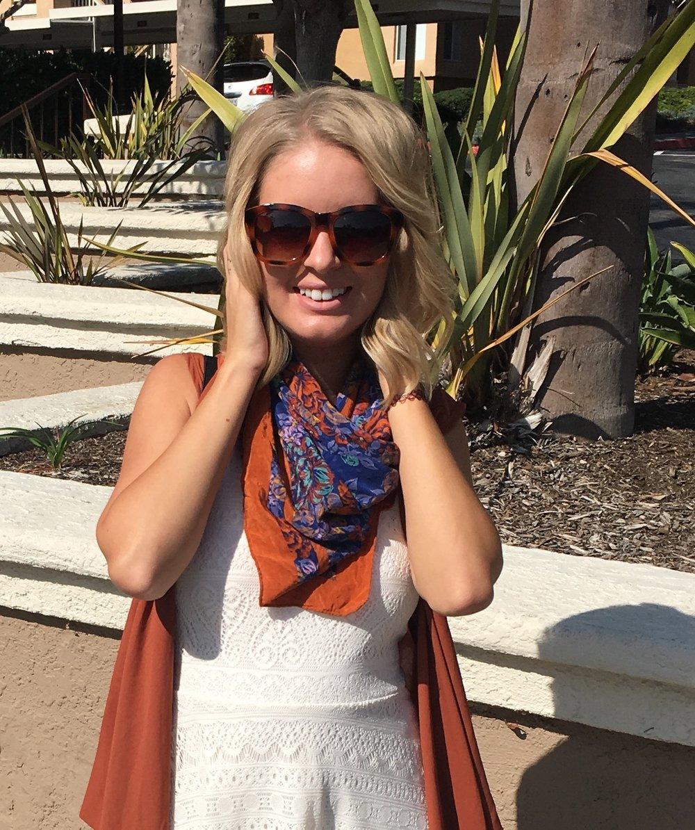 How to Wear a Summer Dress for Fall — The Tangerine Desert