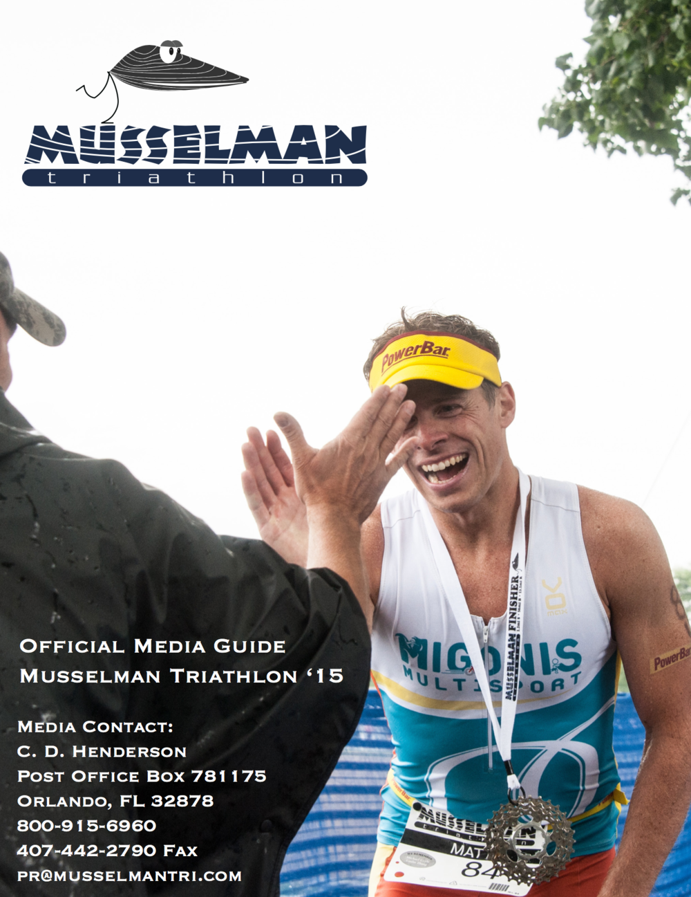 Media Guide: Musselman Triathlon, 2015 [PDF]